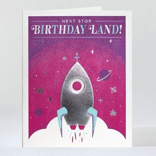 Elum Birthday Card - Orbit