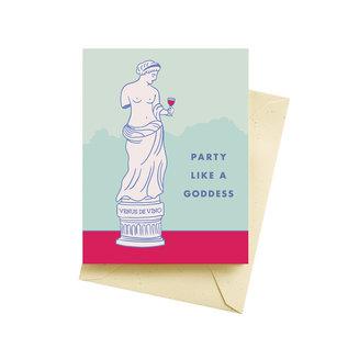 Seltzer Birthday Card - Goddess