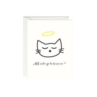 Paula & Waffle Pet Sympathy - All Cats Go To Heaven