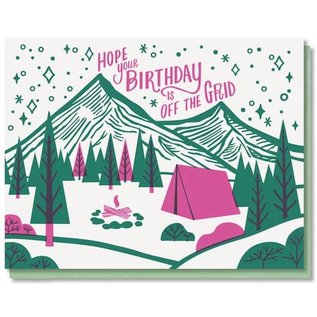 Paper Parasol Press Birthday Card - Off the Grid