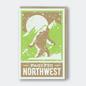 Pike St. Press Greeting Card - Sasquatch PNW