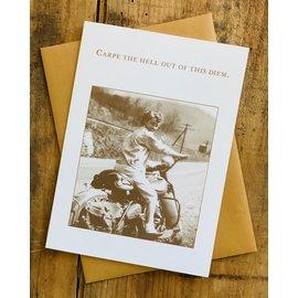 Shannon Martin Birthday Card - Carpe Diem