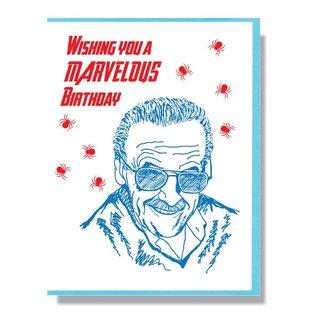 Smitten Kitten Birthday Card - Stan Lee