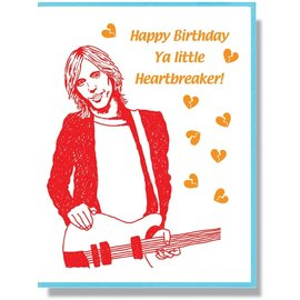 Smitten Kitten Birthday Card - Tom Petty