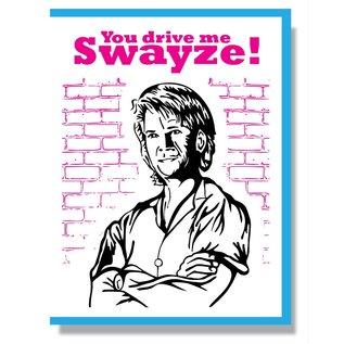 Smitten Kitten Love Card - Patrick Swayze