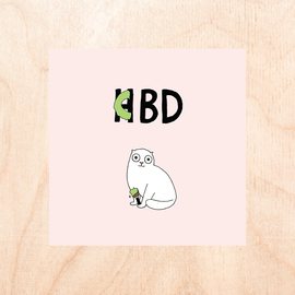 Fine Ass Lines Birthday Card - CBD HBD