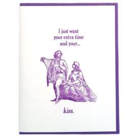 Zeichen Press Love Card - And Your ..... Kiss