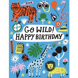 The Found Birthday Card - Safari