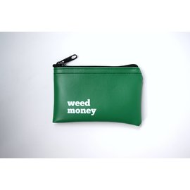 He Said, She Said Weed Money Zip Pouch