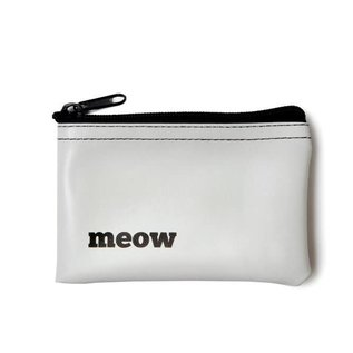 He Said, She Said Meow Zip Pouch