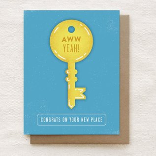 Quirky Paper Co. Housewarming Card - New Place