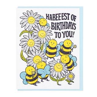 Lucky Horse Press Birthday Card - Habee-est