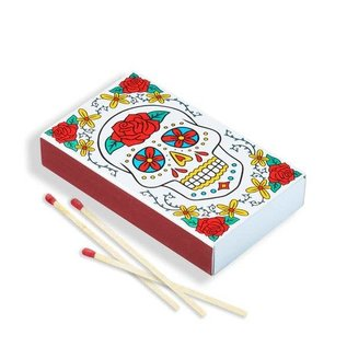 The Found Sugar Skull Matches
