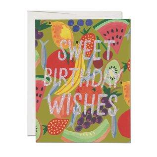 Red Cap Cards Birthday Card - Fruity Birthday