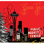 Allport Editions Seattle Foil Red Holiday Boxed Notes