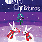 Allport Editions Bunnies & Mistletoe Holiday Boxed Notes
