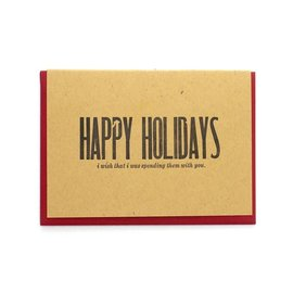 Constellation & Co. Holiday Card - Wish I Was With You