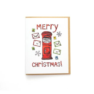 Constellation & Co. Holiday Card - Christmas Mailbox