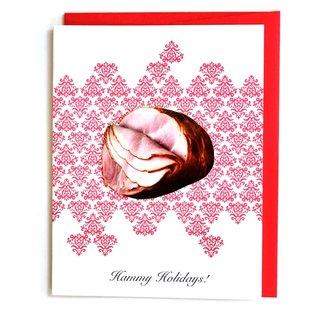 Cracked Designs Holiday Card - Hammy Holidays