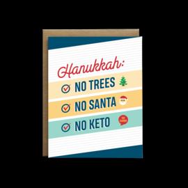 I'll Know It When I See It Holiday Card - No Keto Hanunkkah