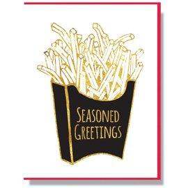 Smitten Kitten Holiday Card - Seasoned Greetings