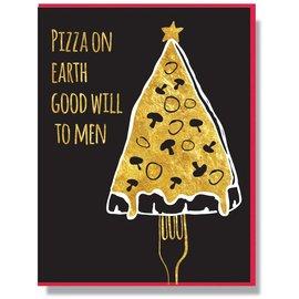 Smitten Kitten Holiday Card - Pizza On Earth