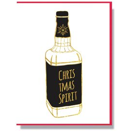 Smitten Kitten Holiday Card - Christmas Spirit
