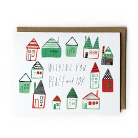 Yuko Miki Holiday Card - Winter Homes