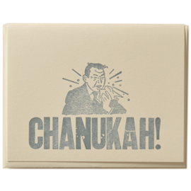 Zeichen Press Holiday Card - Chanukah Bless You