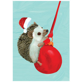 Allport Editions Swingin' Hedgehog Holiday Boxed Notes