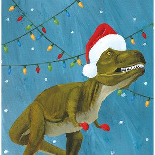 Allport Editions Dinosaur Lights Holiday Boxed Notes