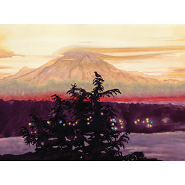 Allport Editions Mt. Rainier View Holiday Boxed Notes