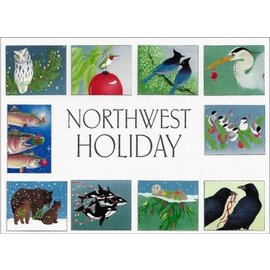 Crane Creek Graphics Northwest Holiday Boxed Notes