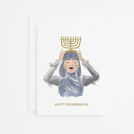 Party Sally Holiday Card - Rihannakkah