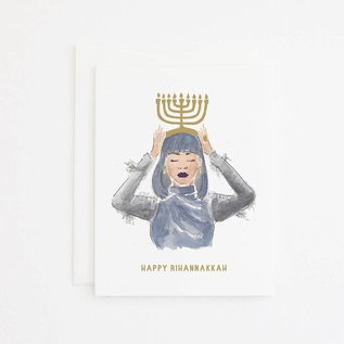Party Sally Holiday Card - Rihannakkah
