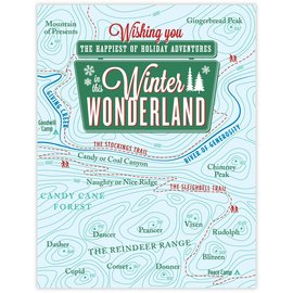 Waterknot Holiday Card - Winter Wonderland