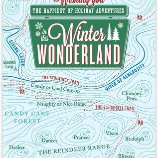 Waterknot Holiday Card - Winter Wonderland