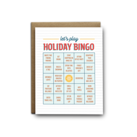I'll Know It When I See It Holiday Card - Bingo