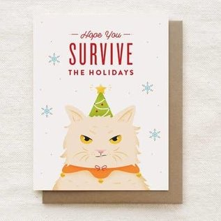 Quirky Paper Co. Holiday Card - Grumpy Cat