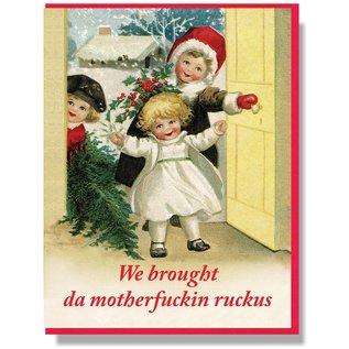 Smitten Kitten Holiday Card - Motherfuckin' Ruckus