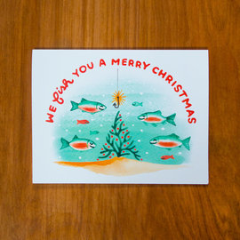 Pretty Bird Paper Co. Holiday Card - Fishmas