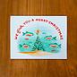 Pretty Bird Paper Co. Holiday Card - Fishmas