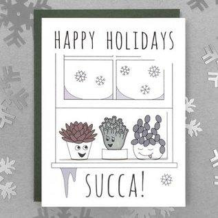 Shoji Note Holiday Card - Succa