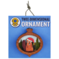 20 Leagues Santa Beaver Ornament