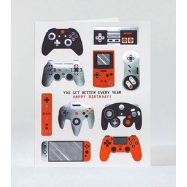 Elum Birthday Card - Gamer