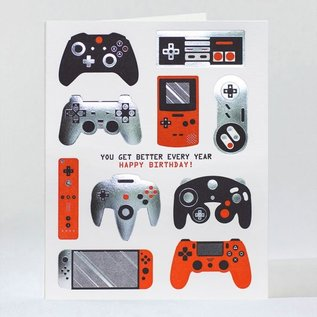 Elum Birthday Card - Gamer