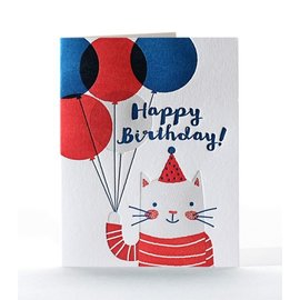 Elum Birthday Card - Feline Felicitations