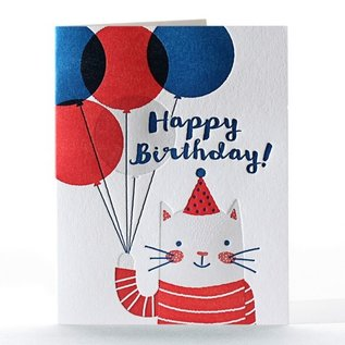 Elum Birthday Card - Feline Felicitations