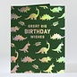 Elum Birthday Card - Dinos at the Disco