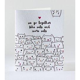 Elum Love Card - Kitty Friendship